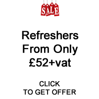 Refreshers From £52+vat